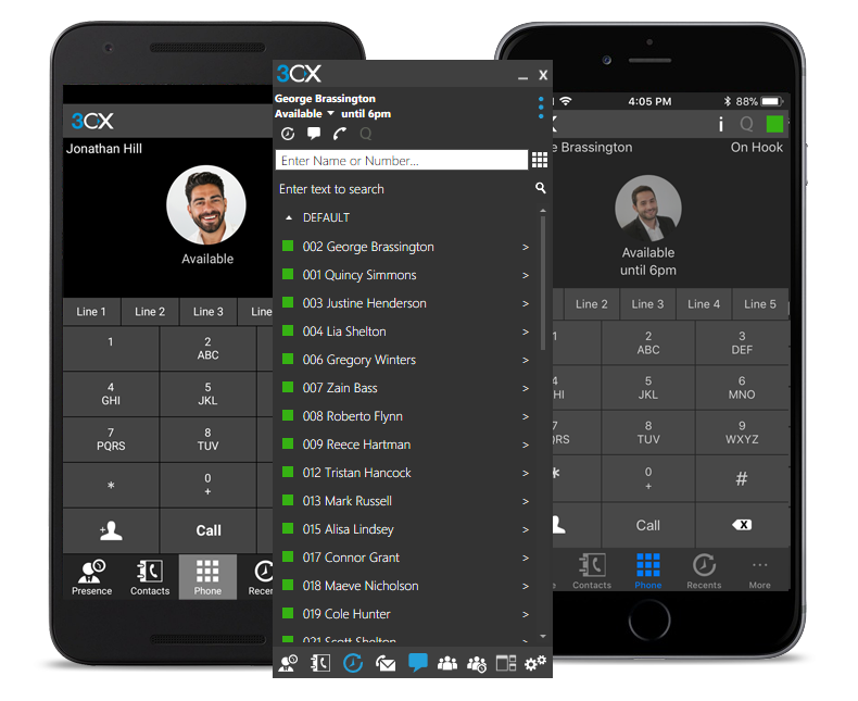 3CX Android IOS