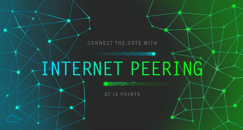 Internet peering