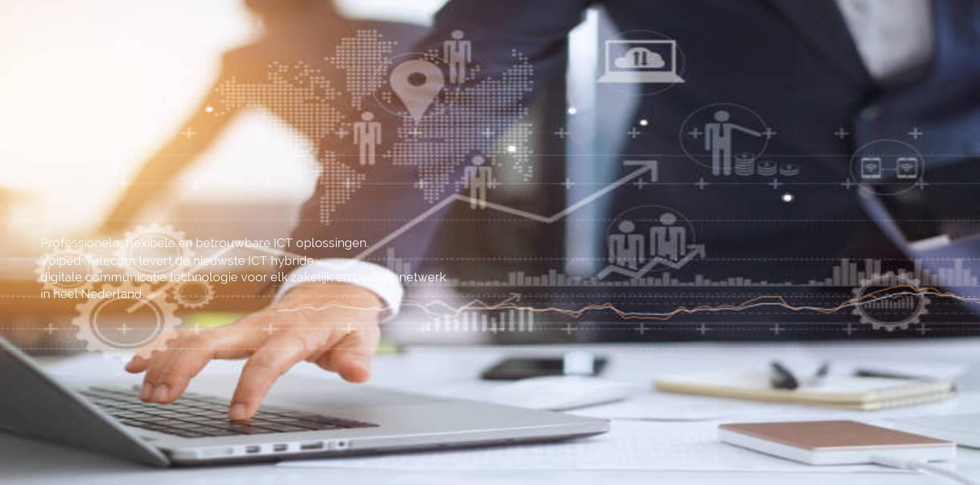 ICT, ISP en datadiensten door Voiped Telecom